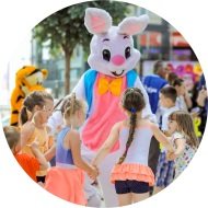 Imprezy / eventy dla dzieci z udziałem żywych maskotek