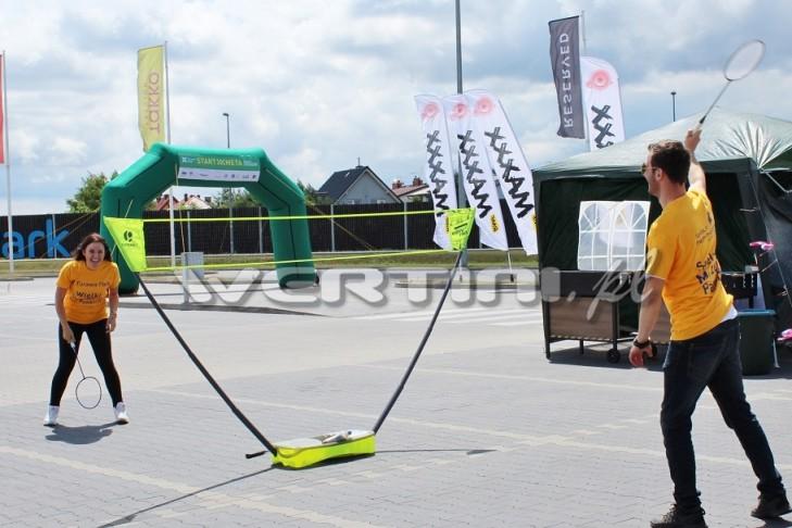 WERTINI Stanowisko sportowe badminton