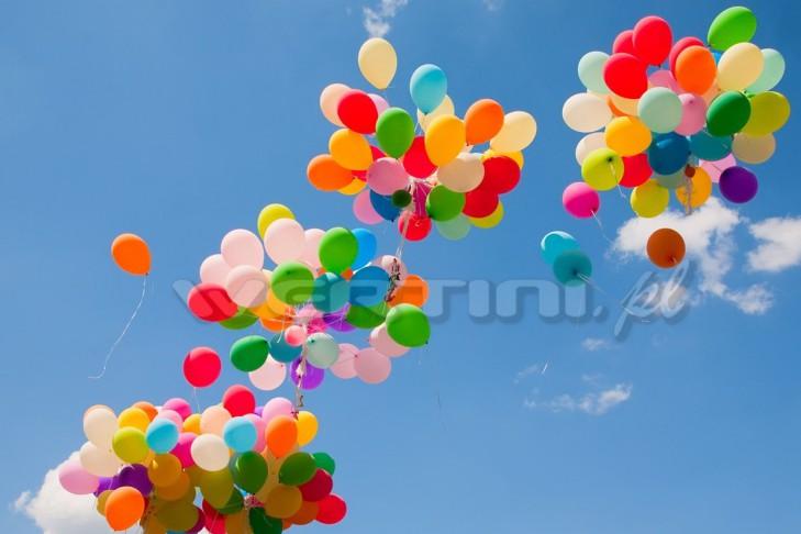 WERTINI Wypuszczanie balonów z helem