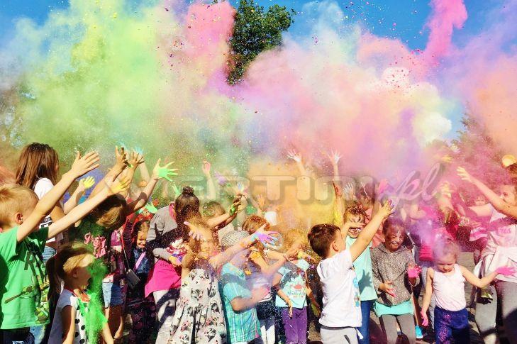 WERTINI Imprezka dla dzieci, festiwal kolorów