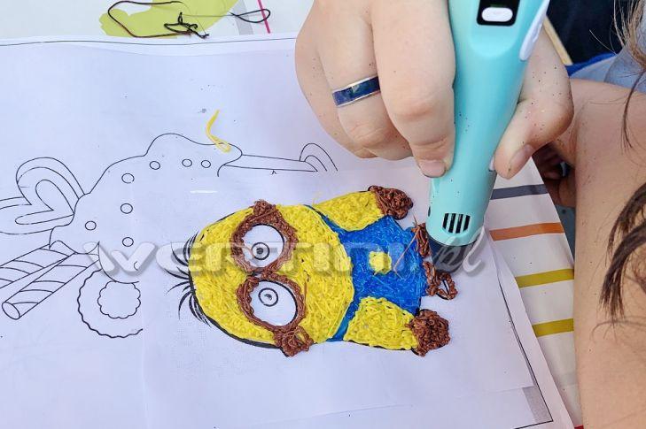 WERTINI Imprezka dla dzieci, warsztaty z długopisami 3D