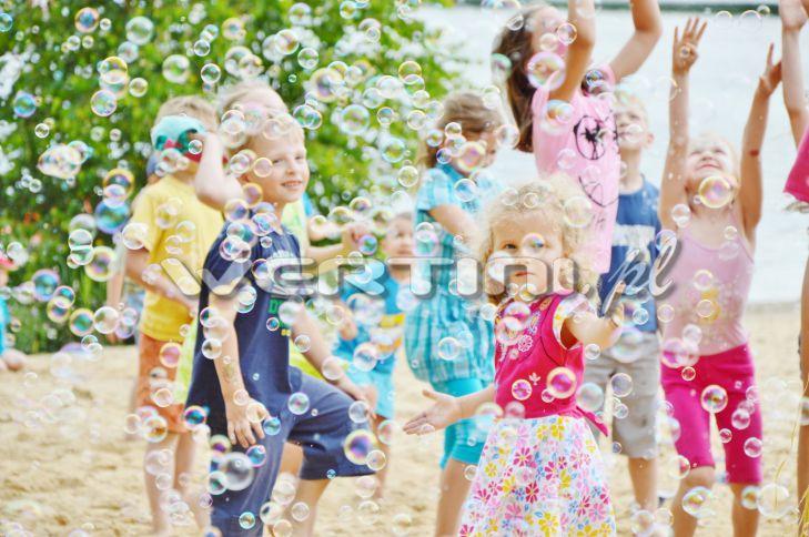 WERTINI Eventy dla dzieci, bańki mydlane