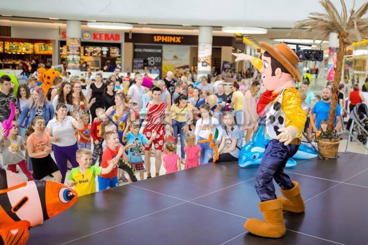 WERTINI Event Dzień Dziecka w centrum handlowym