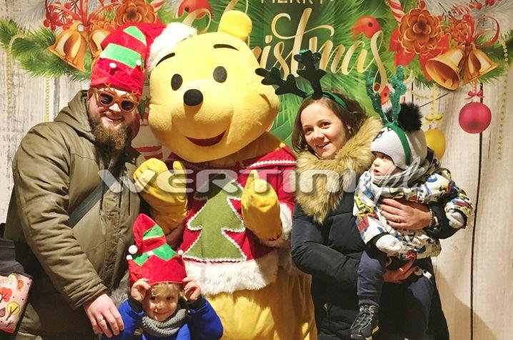 WERTINI Świąteczne zdjęcia z postaciami bajkowymi