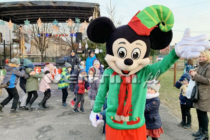 WERTINI Myszka Miki świąteczna