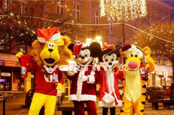 WERTINI Świąteczne żywe maskotki do wynajęcia