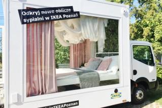 WERTINI Mobilna sypialnia IKEA