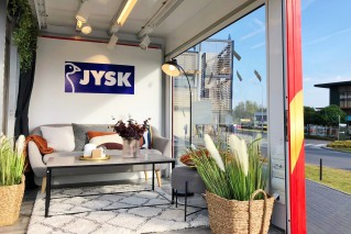 WERTINI Mobilny salon JYSK