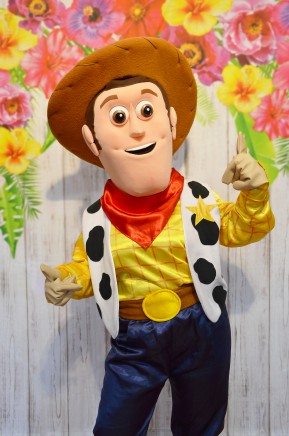 Chudy z Toy Story, chodząca postać bajkowa