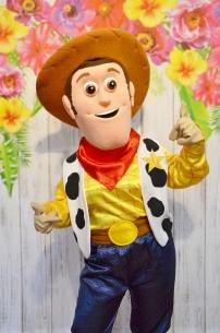 Kowboj Chudy, czyli żywa maskotka z bajki Toy Story