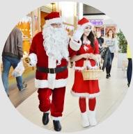 Św. Mikołaj i Śnieżynka do wynajęcia