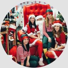 Obsługa eventu mikołajkowego Śnieżynki i Elfy