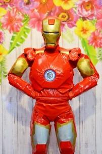 Ironman, czyli żywa maskotka z bajek i filmów