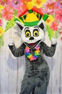 Król Julian, czyli żywa maskotka z bajki Madagaskar