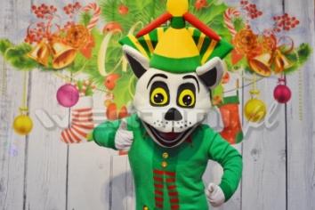 Król Julian, świąteczna żywa maskotka do wynajęcia