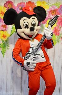Myszka Miki, czyli żywa maskotka z bajek Disneya