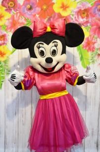 Myszka Minnie, chodząca żywa maskotka z bajek Disneya