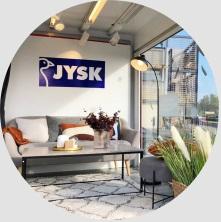 Samochód wystawienniczy dla JYSK