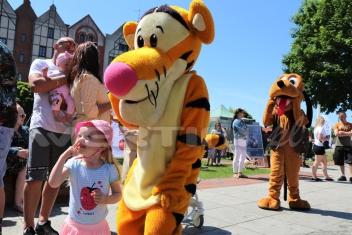 Tygrysek żywa maskotka wynajem dolnyśląskie