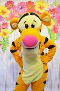 Tygrysek, chodząca żywa maskotka prosto ze Stumilowego Lasu