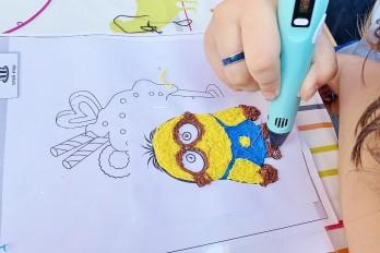 Warsztaty rysowania długopisem 3D