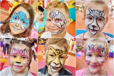 Malowanie twarzy dla dzieci na wynajem