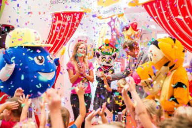 Wyrzutnia konfetti na imprezy