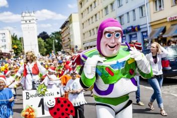 Buzz Astral na bajkowej paradzie