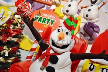 Olaf, żywa maskotka na imprezy mikołajkowe