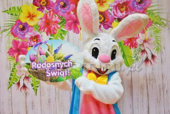 Event wielkanocny z Białym Zajączkiem Wielkanocnym