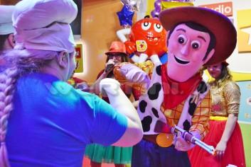 Chudy, kowboj z Toy Story