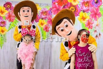Chodząca żywa maskotka Chudy z Toy Story