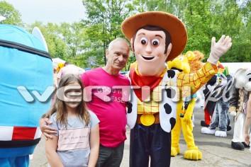 Chodząca postać bajkowa Chudy z Toy Story