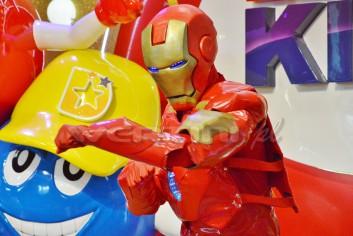 Ironman na imprezie dla dzieci