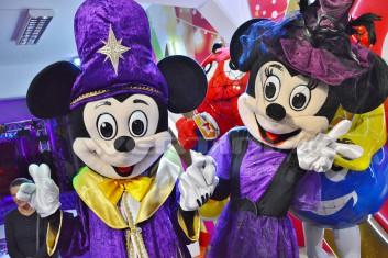 Żywa maskotka Myszka Miki Czarodziej