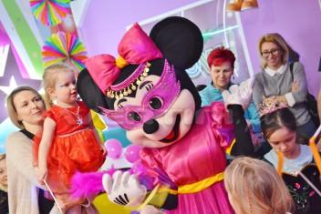 Myszka Minnie chodząca ogromna maskotka