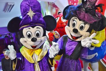 Halloween dla dzieci z Myszką Miki i Minnie