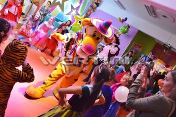 Tygrysek na imprezce karnawałowej