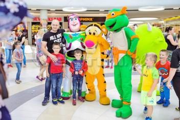 Żółw Ninja na evencie z okazji Dnia Dziecka