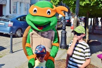 Żółw Ninja, żywa maskotka wynajem opolskie, dolnośląskie, śląskie