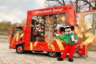 Świąteczny pojazd Mikołaja, czyli Santa Truck