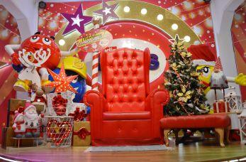 Unikatowy fotel Mikołaja do wynajęcia