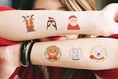 Tymczasowe tatuaże, stanowisko do wynajęcia