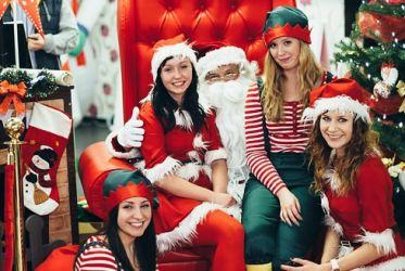 Elfy, Śnieżynki, Mikołaj do wynajęcia
