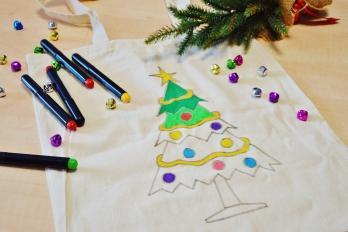 Malowanie toreb bawełnianych dla dzieci