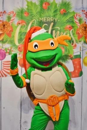 Żółw Ninja, wynajem chodzących maskotek