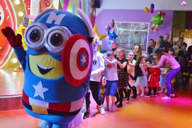 Impreza Superbohaterów dla dzieci