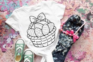 Wielkanocne warsztaty malowania koszulek