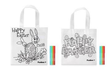Wielkanocne warsztaty malowania toreb ekologicznych