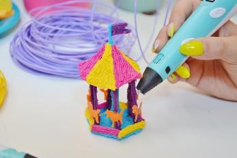 Warsztaty rysowania długopisem 3D dla dzieci